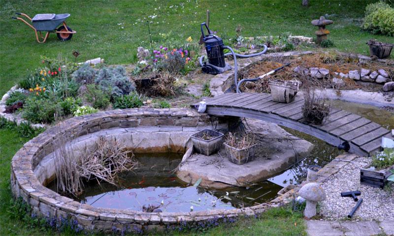 bassin&aspirateur
